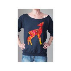 Sarenka diamenty bluza czarna z. Czarne bluzy z nadrukiem damskie One mug a day, s, z bawełny. Za 139,00 zł.
