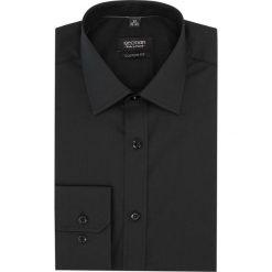Koszula versone cod4 długi rękaw custom fit czarny. Czarne koszule męskie na spinki Recman, na lato, m, z aplikacjami, z bawełny, z klasycznym kołnierzykiem, z długim rękawem. Za 99,00 zł.