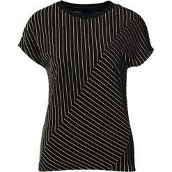 T-shirty damskie: KIOMI STRIPED Tshirt z nadrukiem black