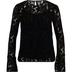 Bluzki asymetryczne: Warehouse ALL OVER VELVET LACE Bluzka black