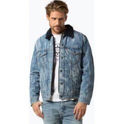 Levi's - Męska kurtka jeansowa – Justin Timberlake, niebieski. Niebieskie kurtki męskie bomber Levi's®, m, z futra. Za 499,95 zł.