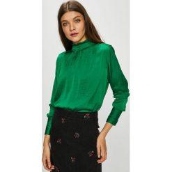 Only - Bluzka. Szare bluzki z odkrytymi ramionami marki ONLY, s, z bawełny, casualowe, z okrągłym kołnierzem. Za 259,90 zł.