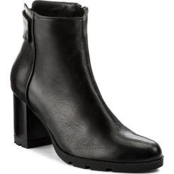 Botki LASOCKI - 2492 Czarny. Czarne buty zimowe damskie Lasocki, ze skóry, na obcasie. Za 279,99 zł.