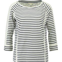 Bluzki asymetryczne: White Stuff STRIPE  Bluzka z długim rękawem navy