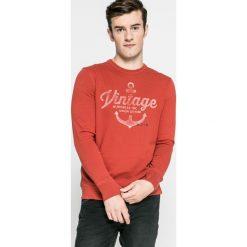 Jack & Jones Vintage - Bluza. Różowe bluzy męskie rozpinane Jack & Jones Vintage, m, z nadrukiem, z bawełny, bez kaptura. W wyprzedaży za 59,90 zł.