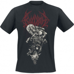 Bloodbath Nightmare T-Shirt czarny. Czarne t-shirty męskie Bloodbath, l. Za 74,90 zł.