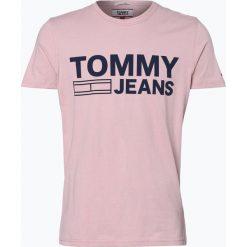 T-shirty męskie z nadrukiem: Tommy Jeans – T-shirt męski, lila
