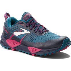 Buty BROOKS - Cascadia 13 120274 1B 449 Ink/Navy/Pink. Niebieskie buty do biegania damskie Brooks, z materiału. W wyprzedaży za 409,00 zł.