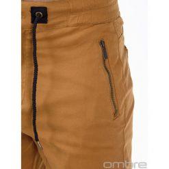 Spodnie męskie: SPODNIE MĘSKIE JOGGERY P417 – RUDE