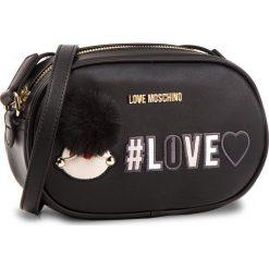 Torebka LOVE MOSCHINO - JC4069PP16LK0000 Nero. Czarne listonoszki damskie marki Love Moschino, ze skóry ekologicznej. W wyprzedaży za 509,00 zł.