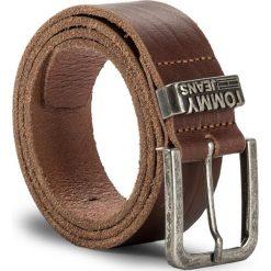 Pasek Męski TOMMY JEANS - Tjm Loop Belt 4.0 AM0AM03364 85 257. Brązowe paski męskie marki Tommy Jeans, w paski, z jeansu. W wyprzedaży za 139,00 zł.
