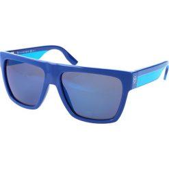 """Okulary przeciwsłoneczne damskie aviatory: Okulary przeciwsłoneczne """"0005/S 0HO/XT"""" w kolorze niebieskim"""