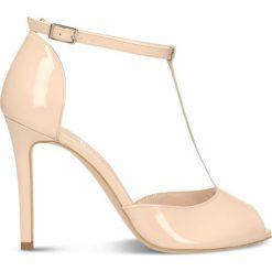 Sandały GINA. Szare sandały damskie marki Gino Rossi, z gumy. Za 299,90 zł.