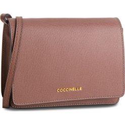 Torebka COCCINELLE - CV3 Mini Bag E5 CV3 55 D6 05 Dark Pivoine P03. Brązowe listonoszki damskie marki Coccinelle, ze skóry. W wyprzedaży za 589,00 zł.