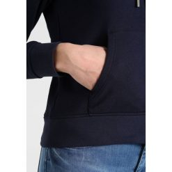 Bluzy chłopięce: GANT FULL ZIP HOODIE Bluza rozpinana evening blue