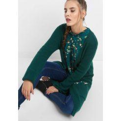 Długi kardigan z perłami. Czarne kardigany damskie marki Orsay, xs, z bawełny, z dekoltem na plecach. Za 119,99 zł.