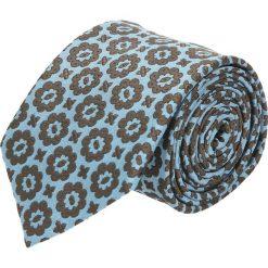 Krawat platinum niebieski classic 240. Niebieskie krawaty męskie Recman. Za 49,00 zł.