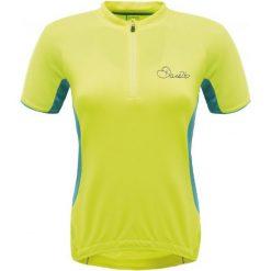 Dare 2b Koszulka Rowerowa Subdue Jersey Fluro Yellow 12. Żółte topy sportowe damskie marki Dare 2b, z jersey. W wyprzedaży za 85,00 zł.