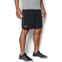 Under Armour Spodenki męskie MEN'S Heatgear® Mirage Short 8'' czarne r. M (1240128-001). Szare spodenki sportowe męskie marki Under Armour, z elastanu, sportowe. Za 87,41 zł.