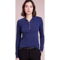 Polo Ralph Lauren JULIE SLIM FIT Koszulka polo dark indigo. Niebieskie topy sportowe damskie Polo Ralph Lauren, xs, z bawełny. W wyprzedaży za 367,20 zł.