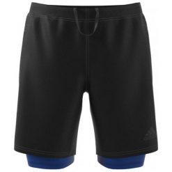 Adidas Spodenki Speed Br Sh2In1 Black/Collegiate Royal 2xl. Czarne spodenki sportowe męskie Adidas, ze skóry, sportowe. W wyprzedaży za 179,00 zł.