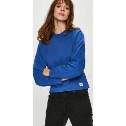 Lee - Bluza. Szare bluzy damskie Lee, l, z bawełny, bez kaptura. Za 239,90 zł.