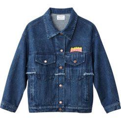 Bluzy rozpinane damskie: Bluza dżinsowa