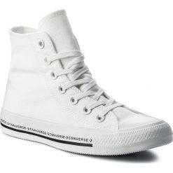 Tenisówki męskie: Trampki CONVERSE - Ctas Hi 159586C White/White/Black