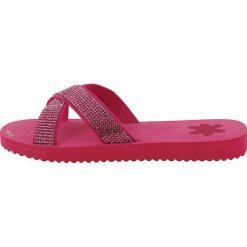 """Chodaki damskie: Klapki """"cross*glam"""" w kolorze różowym"""