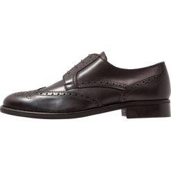 Florsheim RUSSELL Eleganckie buty dark brown. Brązowe buty wizytowe męskie Florsheim, z materiału, na sznurówki. Za 779,00 zł.