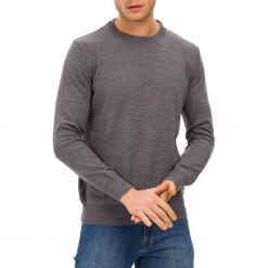 Sweter w kolorze szarym. Szare swetry klasyczne męskie GALVANNI, m, z okrągłym kołnierzem. W wyprzedaży za 229,95 zł.