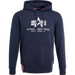 Bejsbolówki męskie: Alpha Industries BASIC HOODY Bluza z kapturem navy