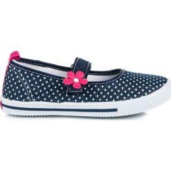 Buty dziecięce: Jeansowe trampki w grochy american club AMELIE