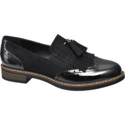 Mokasyny damskie: mokasyny damskie Graceland czarne