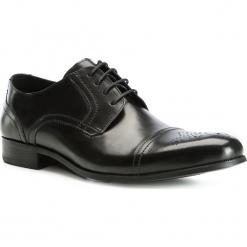 Buty męskie 83-M-800-1. Czarne buty wizytowe męskie Wittchen, z syntetyku. Za 239,00 zł.