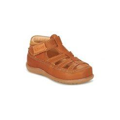 Sandały Dziecko  Kavat  ALSTERMO. Czerwone sandały dziewczęce marki Born2be, z materiału, z otwartym noskiem, na zamek. Za 230,30 zł.