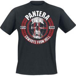 Pantera Skull Circle T-Shirt czarny. Czarne t-shirty męskie Pantera, xxl, z motywem zwierzęcym, z okrągłym kołnierzem. Za 74,90 zł.