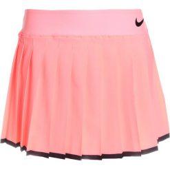 Nike Performance GIRLS VICTORY SKIRT Spódnica sportowa lava glow/black. Pomarańczowe spódniczki dziewczęce Nike Performance, z elastanu. Za 139,00 zł.