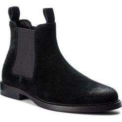 Sztyblety POLO RALPH LAUREN - Normanton 803710915001  Black. Czarne sztyblety męskie marki Polo Ralph Lauren, z materiału. W wyprzedaży za 869,00 zł.
