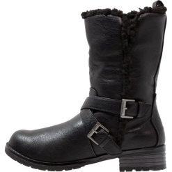 Head over Heels by Dune REECEY Kozaki black. Czarne buty zimowe damskie Head over Heels by Dune, z materiału. W wyprzedaży za 287,20 zł.