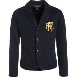 Polo Ralph Lauren Żakiet avaitor navy. Niebieskie kurtki dziewczęce marki Polo Ralph Lauren, z bawełny. W wyprzedaży za 503,20 zł.