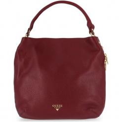 Guess Torebka Damska Burgund. Czerwone torebki klasyczne damskie Guess, z aplikacjami. Za 1069,00 zł.