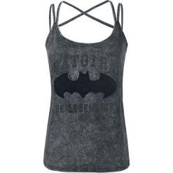 Topy damskie: Batman Dark Night Top damski odcienie ciemnoszarego