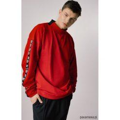 Bejsbolówki męskie: Bluza bawełniana męska czerwona
