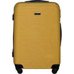 Walizki: Walizka w kolorze żółtym – (S)46 x (W)68 x (G)26 cm