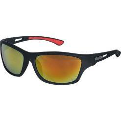 Biker Okulary przeciwsłoneczne czarny/czerwony. Czarne okulary przeciwsłoneczne damskie aviatory Biker, z gumy. Za 42,90 zł.