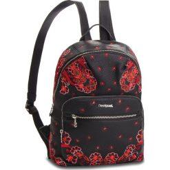 Plecak DESIGUAL - 18WAXPA0 2000. Czarne plecaki damskie marki Desigual, ze skóry ekologicznej. W wyprzedaży za 239,00 zł.