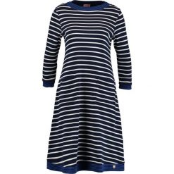 Sukienki dzianinowe: Armor lux Sukienka dzianinowa marine deep/milk/escadre
