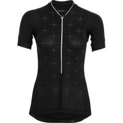 Craft BELLE Tshirt z nadrukiem black/white. Czarne topy sportowe damskie marki Craft, m. Za 339,00 zł.