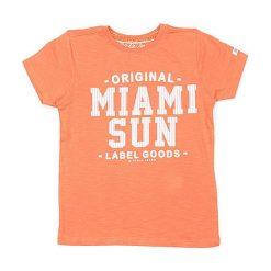T-shirty chłopięce z nadrukiem: Koszulka w kolorze pomarańczowym